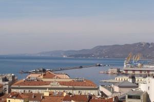 panorama su Trieste
